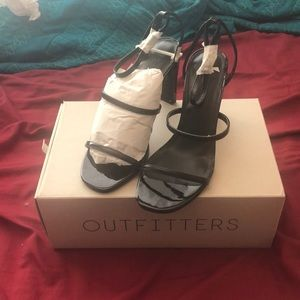 Urban outfitters strap heels size 8